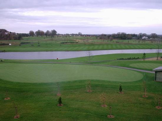 The Heritage Killenard: view from our room - golf course