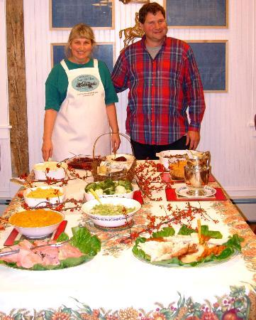 Historic Jacob Hill Inn: Eleonora and Bill's Thanksgiving feast will leave you as stuffed as the turkey.
