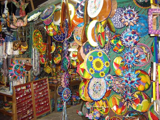Sunscape Dorado Pacifico Ixtapa: Marketplace in Zihua