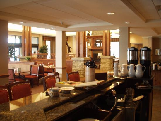 Lobby breakfast area Picture of Hilton Garden Inn Bozeman