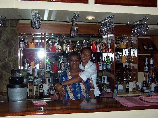 Naviti Resort : friendly restaurant staff