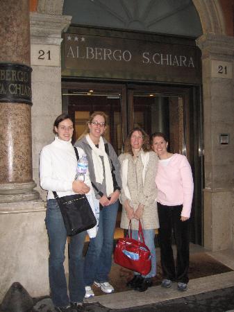 Hotel Albergo Santa Chiara: our last moments