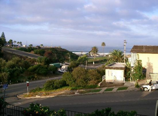 Moonlight Beach Motel: View from the second floor