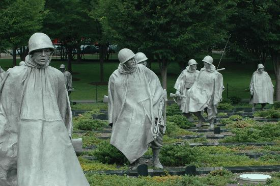 Korean War Veterans Memorial Photo