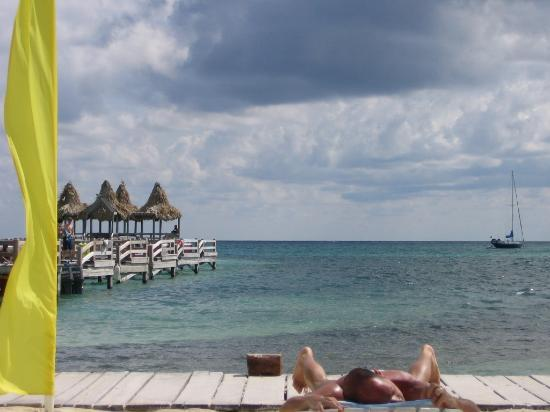Ramon's Village Resort: Laying out in front of Ramon's