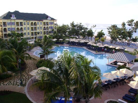 Sandals South Coast : The view from our room
