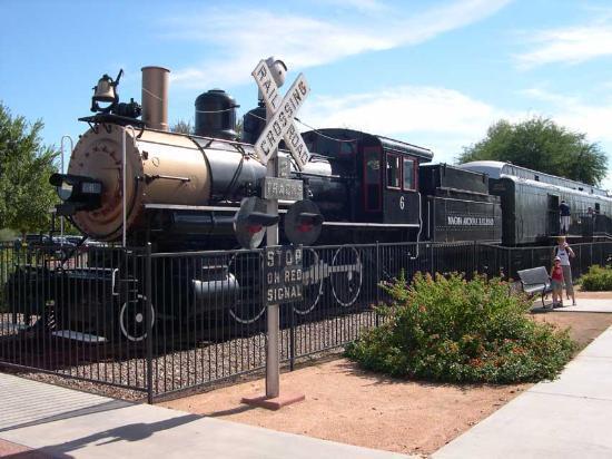 Scottsdale, Arizona: Historic train