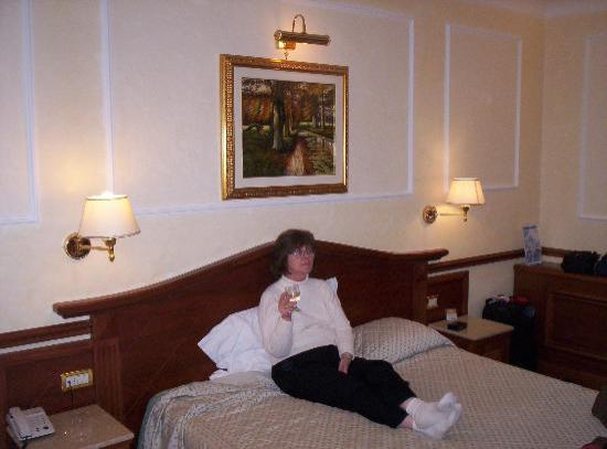 Hotel Hiberia: Resting after a day of walking