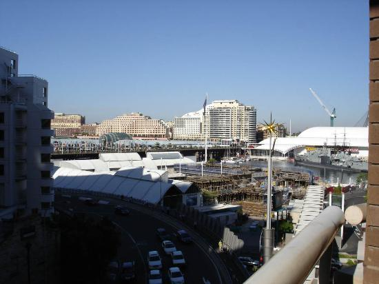 Metro Apartments On Darling Harbour: View from apartment