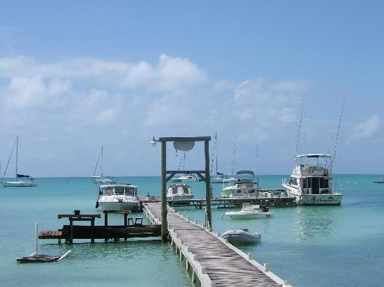 Anegada Reef Hotel: The dock - just as in '87