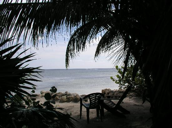 Balamku Inn on the Beach: View from the palapa