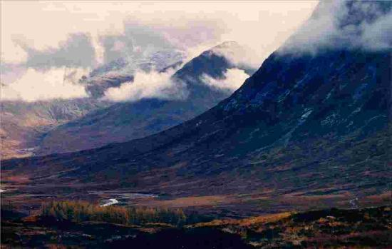 Glen Coe: Slopes of Buchaille Etive Mhor