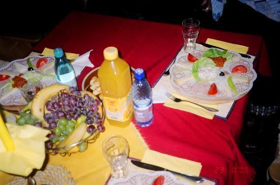 Hotel Scorilo: light snack