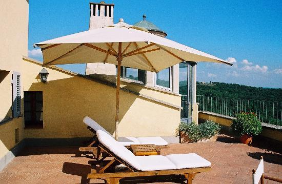 Relais Villa Arceno: Our Terrace