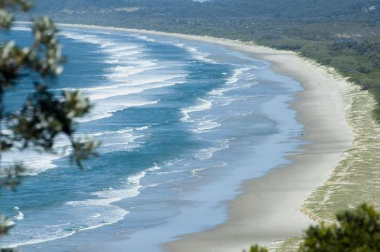 Byron Bay, Australie : Tallows Beach, Suffolk Park