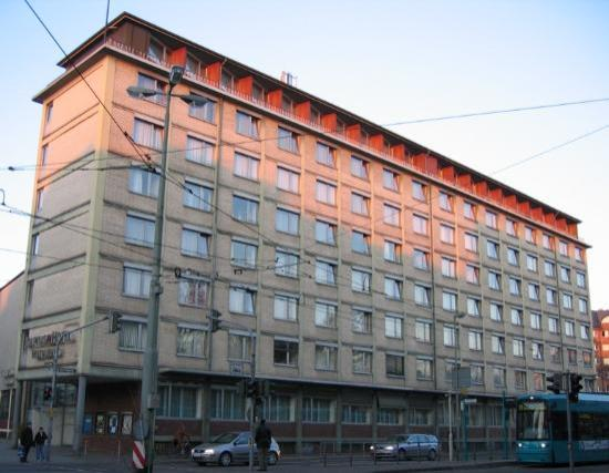 mainhaus Stadthotel: Outside view of the hotel