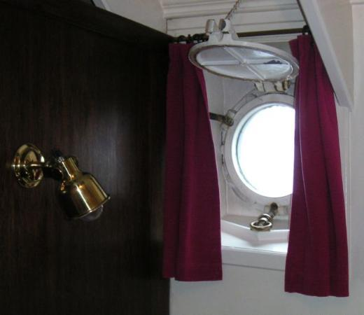 Feuerschiff Ship Hotel: Room with a view (actually two)