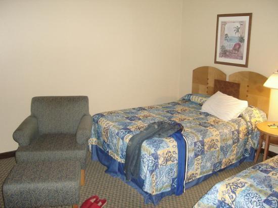 San Juan Beach Hotel: My room...I really do pick up after myself.. I swear.