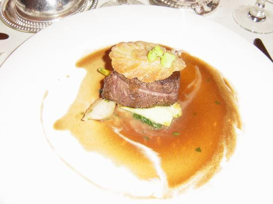 Le Bec Fin: Filet of Beef Entree