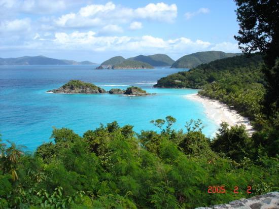 St. John: View of Trunk Bay