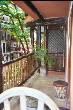 Casa Freud : Balcony off of Posada Freud room