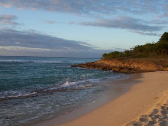 Hawksbill by Rex Resorts: Eden Beach at sundown