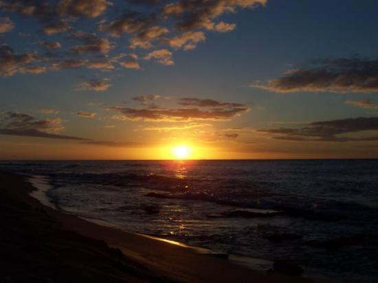 Hawksbill by Rex Resorts: First Sunset from Eden Beach