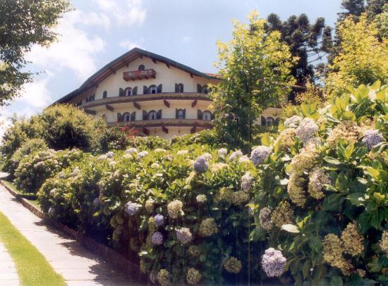 An Austrian-style hotel in Gramado