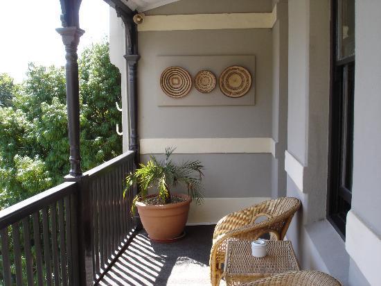 An African Villa: Balcony