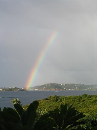 Estate Lindholm: Rainbow from Pool