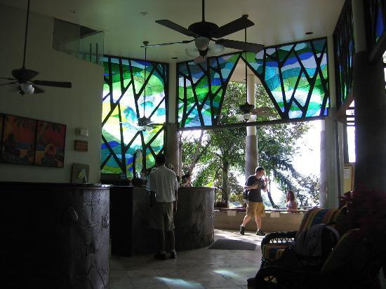 Si Como No Resort & Wildlife Refuge: Reception desk