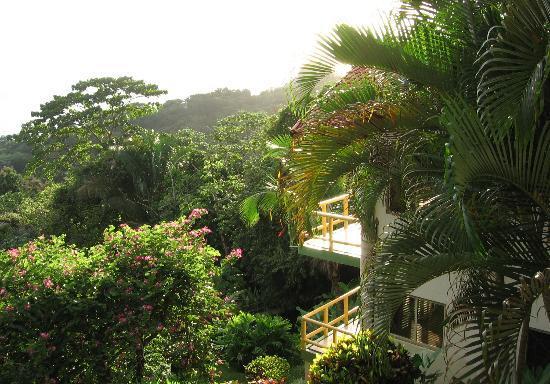 Si Como No Resort & Wildlife Refuge: view from balcony - Room 7