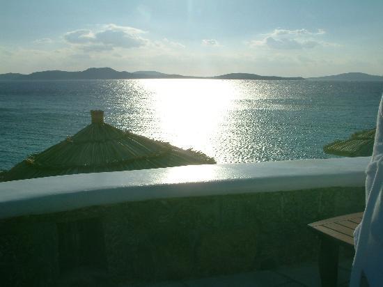 Mykonos Grand Hotel & Resort: Just another Mykonos sunset