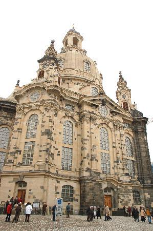 Δρέσδη, Γερμανία: Exterior shot of the Frauenkirche