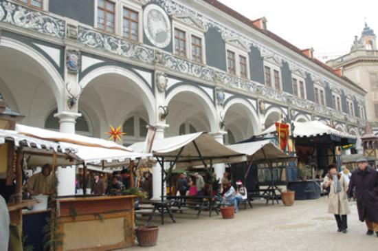 Dresden, Alemania: Medieval market