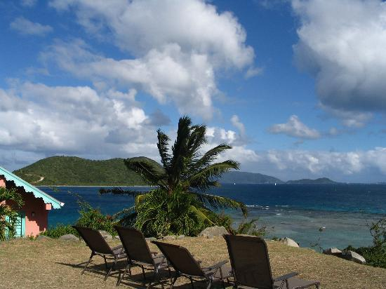 Pusser's Marina Cay Hotel and Restaurant: View from island summit