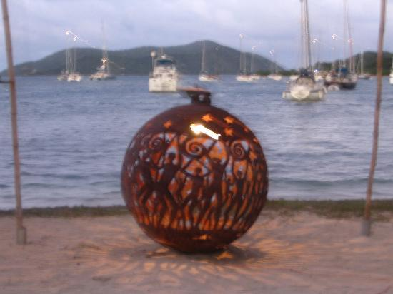 Pusser's Marina Cay Hotel and Restaurant: Orb for Full Moon Party at Trellis Bay