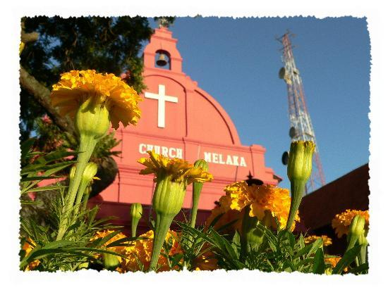 Malacca, Malaisie : Late Afternoon @ Christ Church Melaka