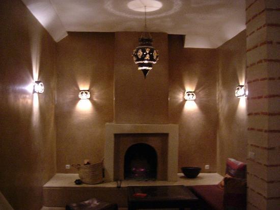 Riad l'Orangeraie: The Salon