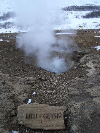 Islandia: Litli Geysir