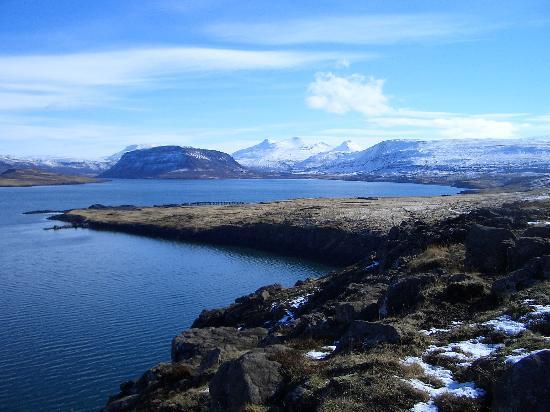 Islandia: View of Hvalfjordur