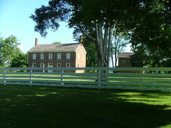 Shaker Village of Pleasant Hill: View of one of the buildings and grounds