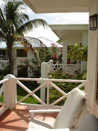 Victoria House Resort & Spa: View from Plantation Suite balcony (#24)