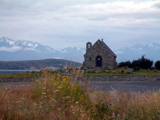 Lake Tekapo, Nieuw-Zeeland: Church of the Good Shepperd