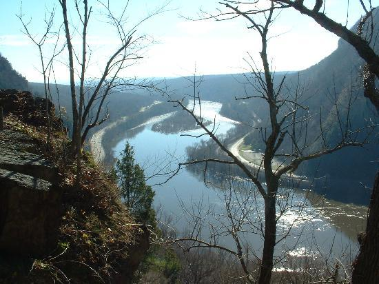 Delaware Water Gap, Pennsylvanie : Scene 1