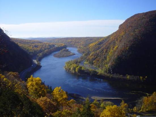 Delaware Water Gap, Pennsylvanie : Scene 4