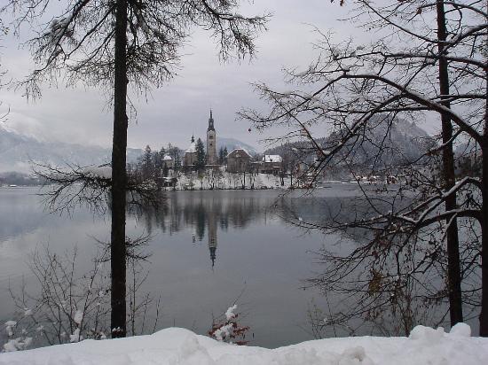 Grand Hotel Toplice: General lake view