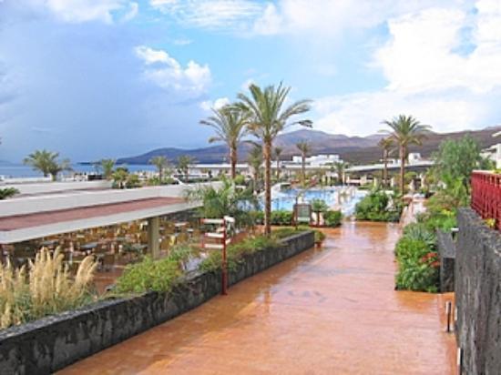 Hotel Costa Calero: View from terrace