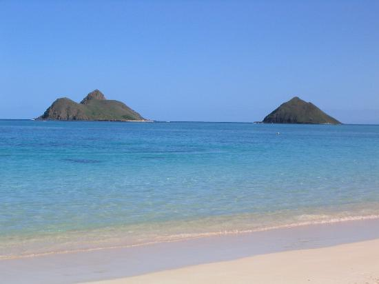 Offshore Islands at Lanikai Beach