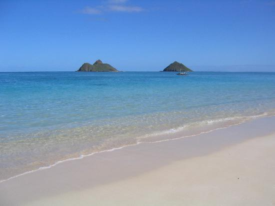 Offshore Islands at Lanikai Beach